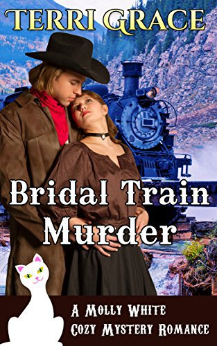 COZY MYSTERY ROMANCE: The Bridal Train Murder