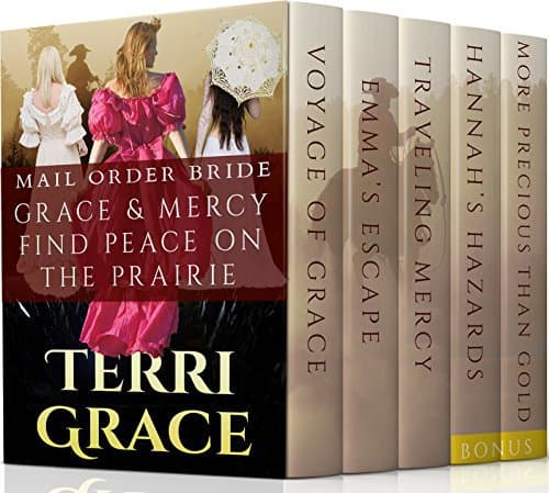 MAIL ORDER BRIDE: Grace & Mercy Find Peace On The Prairie Boxset and Bonus Books