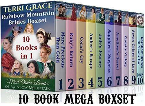 MAIL ORDER BRIDE: Rainbow Mountain Brides 10 Book Boxset (BONUS Included)