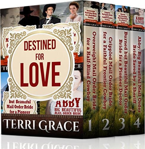 MAIL ORDER BRIDE: Destined To Love Boxset Bundle Books 1-4