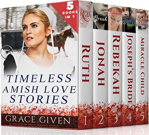 AMISH ROMANCE BOXSET: Timeless Amish Love Stories – 5 Amish Romances in 1