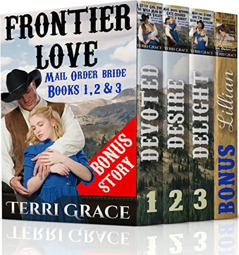 Mail Order Bride: FRONTIER LOVE (Mail Order Brides Box Set)