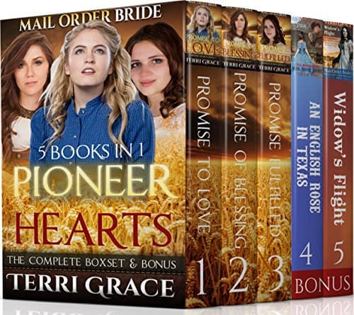 MAIL ORDER BRIDE: Pioneer Hearts 5 Book Inspirational Boxset