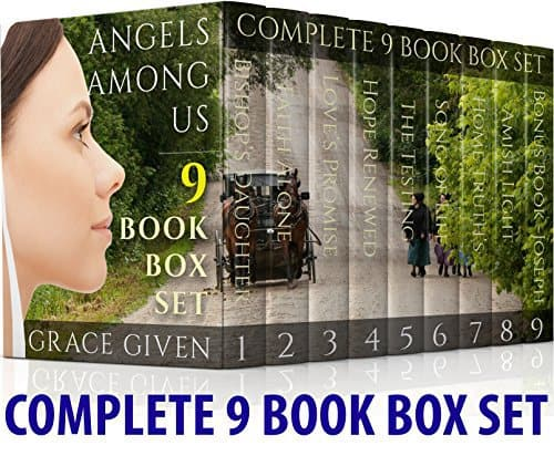 AMISH ROMANCE: Angels Among Us Complete 9 Book Boxset