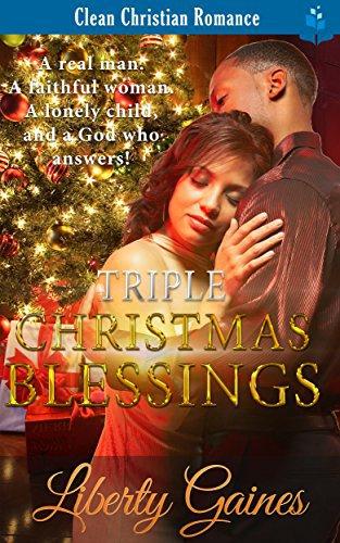 Triple Christmas Blessings: Clean Christian Romance