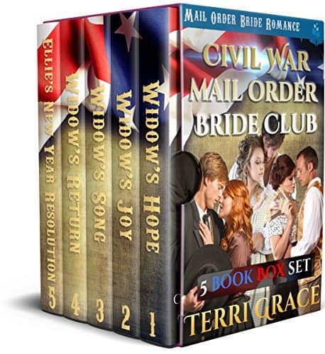 Civil War Mail Order Brides 5 Book Box Set: Clean Historical Romance