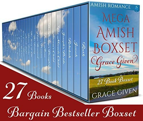 Amish Mega Boxset: Grace Given: 27 Book Amish Romance Boxset