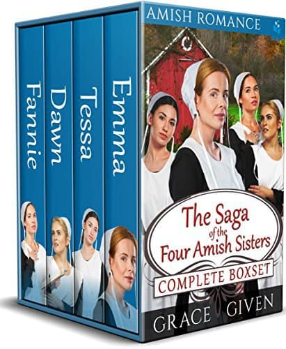Amish Romance: The Saga of the Four Amish Sisters Complete Box Set