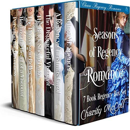 Seasons of Regency Romance: 7 Book Clean Regency Romance Box Set
