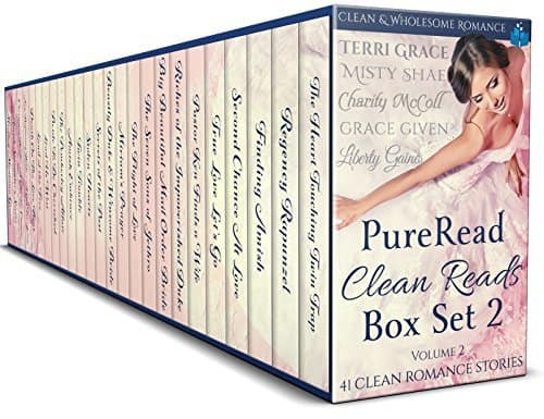 PureRead Clean Reads Box Set Vol 2: 41 Clean & Wholesome Romance Stories