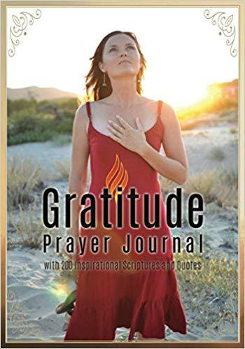 Gratitude Prayer Journal: with 200 Inspirational Scriptures and Quotes