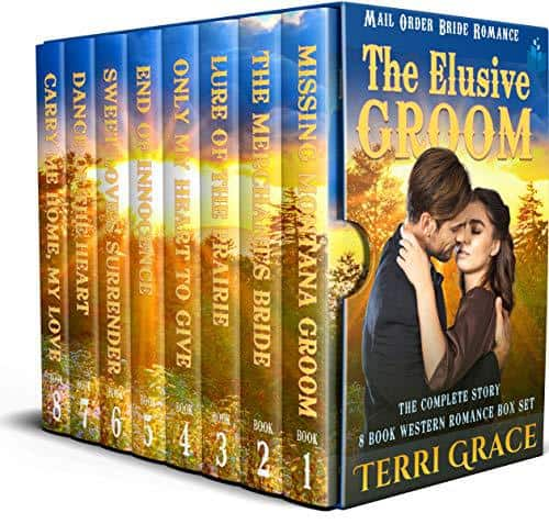 The Elusive Groom – The Complete Story Boxset: 8 Book Western Romance Box Set