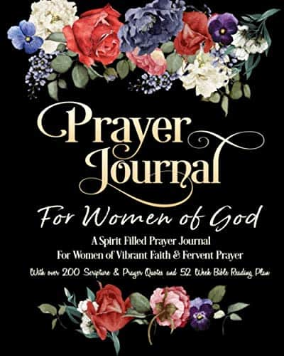 Prayer Journal For Women of God