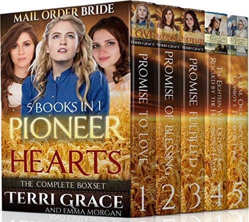 Pioneer Hearts 5 Book Inspirational Boxset