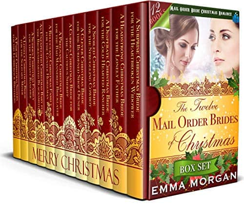 The Twelve Mail Order Brides of Christmas Box Set