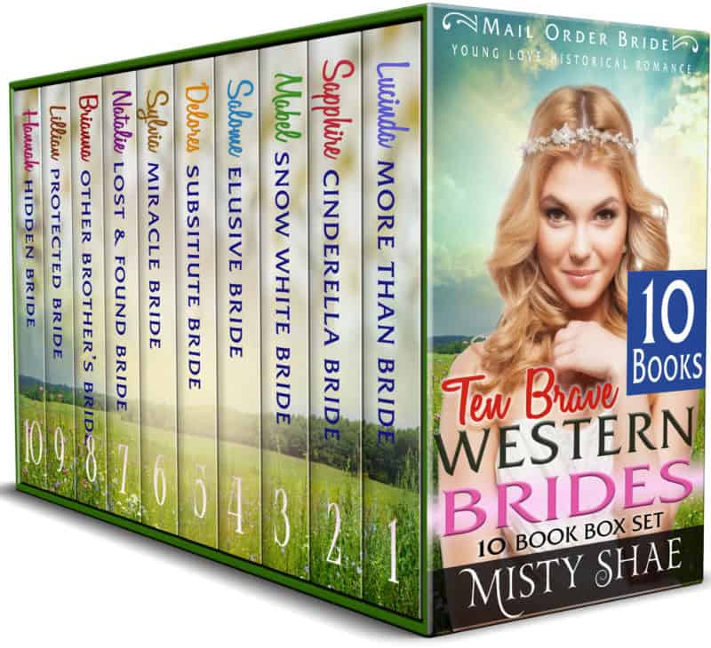 10 Brave Western Brides 10 Book Box Set