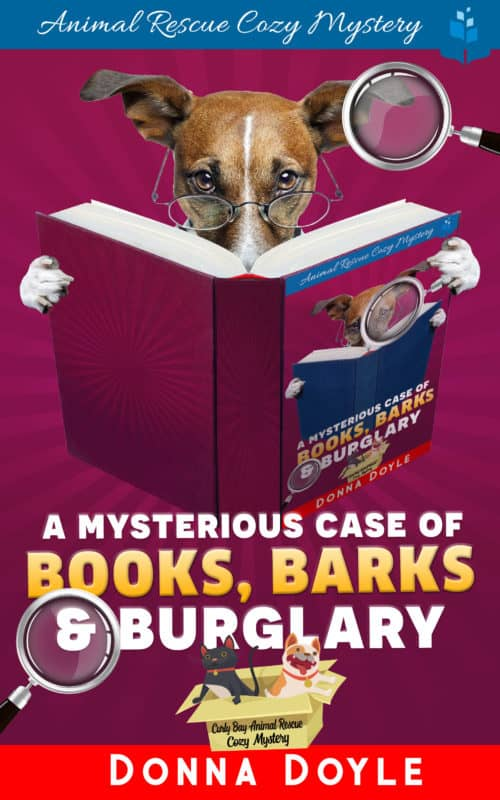 The Mysterious Case of Books, Barks, and Burglary